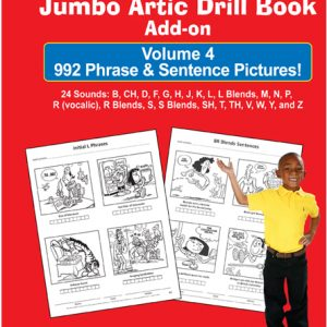 Jumbo Artic Drill Book PHRASE & SENTENCE Add-on Book